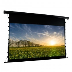 "Liberty APLUS (Formely VEGA) Show Premium  Tab-Tensioned Electric Screens (6'X4') 84""(4:3) Matte White (FWA) Matte white PVC, with Built in Multi Function Remote Control"