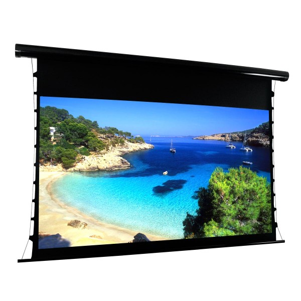 "Liberty Vega Show Premium Multi Control Tab-Tensioned Screens 84""(16:9) HDTV Format"