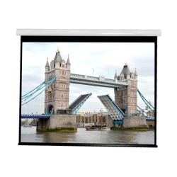 """Liberty Vega show Supreme Tab-Tensioned Screen (5'X7')100""""(4:3) Video Format with Matte White"""