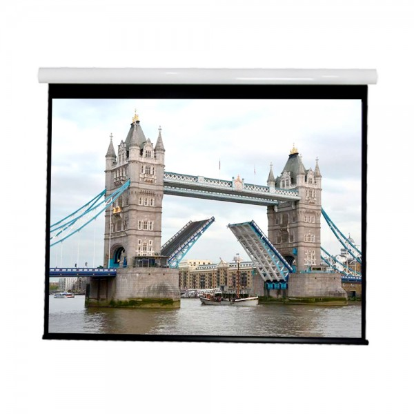 "Liberty Vega show Supreme Tab-Tensioned Screen (5'X7')100""(4:3) Video Format with Matte White"