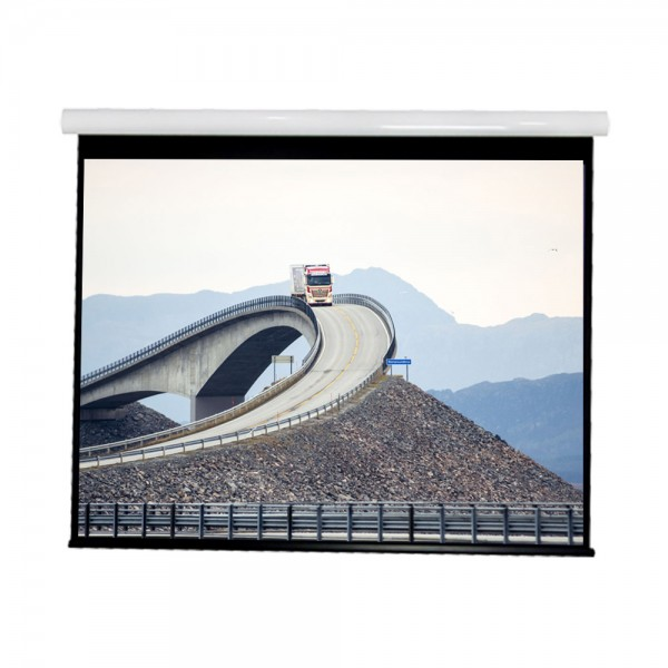"Liberty Vega show Supreme Tab-Tensioned Screen (5'X7') 100""(4:3) Video Format with Matte Gray"