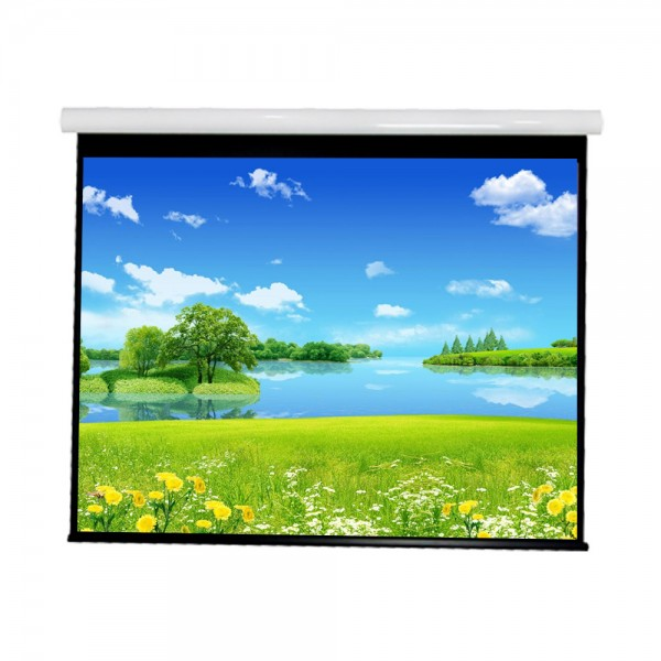 """Liberty Vega show Supreme Tab-Tensioned Screen (6'X8')120""""(4:3) Video Format with Matte Gray"""