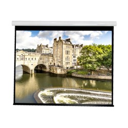 """Liberty Vega show Supreme Tab-Tensioned Screen (8'X10') 150"""" (4:3) Video Format with Matte Gray"""