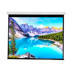 """Liberty Vega show Supreme Tab-Tensioned Screen 100""""  (2.35:1) Cinema Format with Matte White"""