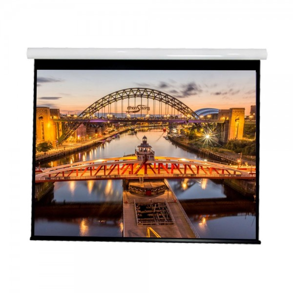 """Liberty Vega show Supreme Tab-Tensioned Screen 133"""" (2.35:1) Cinema Format with Matte Gray"""
