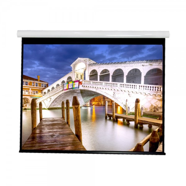 """Liberty Vega show Supreme Tab-Tensioned Screen 150""""(2.35:1) Cinema Format with Matte Gray"""