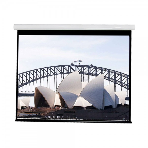 """Liberty Vega show Supreme Tab-Tensioned Screen 180""""(2.35:1) Cinema Format with Matte Gray"""