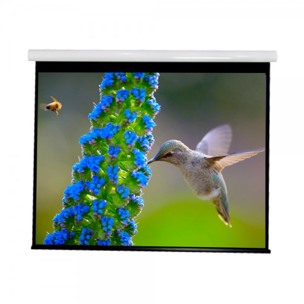 "Liberty Vega show Supreme Tab-Tensioned Screen 84""  (16:9) HDTV Format with Matte White"