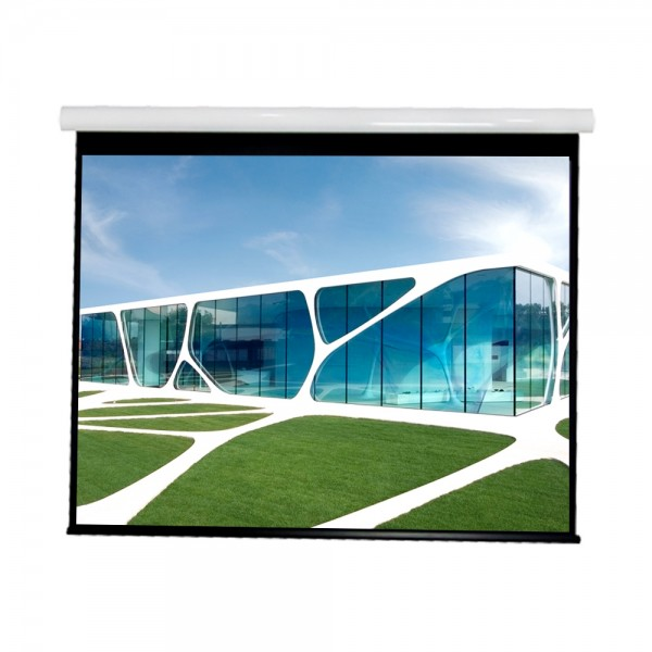 """Liberty Vega show Supreme Tab-Tensioned Screen (4'X7') 92""""(16:9) HDTV Format with Matte Gray"""