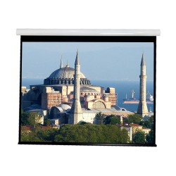 """Liberty Vega show Supreme Tab-Tensioned Screen 100""""(16:9) HDTV Format with Matte Gray"""