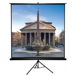 """Liberty APLUS  84""""(4:3) Vesta Portable Tripod Screen  Video Format MWK (Polyster Wrap Knitting)"""