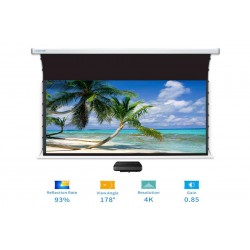 "Liberty Screen Pro Benz 100"" 16:9 ALR Motorized Tab Tensioned For Short Throw Projector"