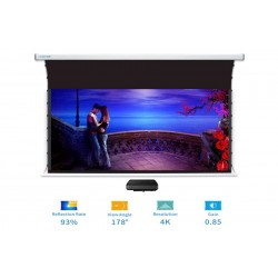 "Liberty Screen Pro Benz 110"" 16:10 ALR Motorized Tab Tensioned For Short Throw Projector"