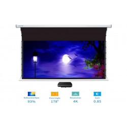 "Liberty Screen Pro Benz 120"" 16:10 ALR Motorized Tab Tensioned For Short Throw Projector"