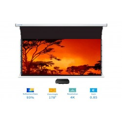 "Liberty Screen Pro Benz 133"" 16:10 ALR Motorized Tab Tensioned For Short Throw Projector"