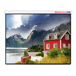 "Liberty Redleaf View 82"" (16:10) Motorized Screen with 4 in 1 Remote & Tubular motor"