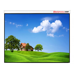 "Liberty Redleaf View 137"" (16:10) Motorized Screen with 4 in 1 Remote & Tubular motor"