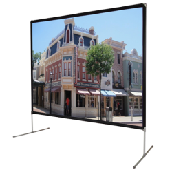 "Liberty Vega 100"" (4:3) Backyard Theater Screen Matte White (FWB)"