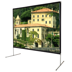 "Liberty Vega 120"" (4:3) Backyard Theater Screen Matte White (FWB)"