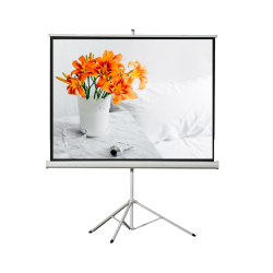 "Liberty Vega 87"" (4:3) Athena Eco-line Portable Tripod Screen"