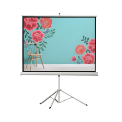 "Liberty Vega 100"" (4:3) Athena Eco-line Portable Tripod Screen"