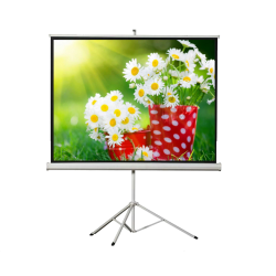 "Liberty Vega 109"" (4:3) Athena Eco-line Portable Tripod Screen"