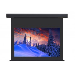 "Liberty Screen Pro Jampo 250"" (4:3) Giant Motorized Screen - Aluminium (Black Drop UP 100mm)"