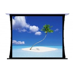"""Liberty Screen Pro 100"""" 16:10 Unique In-Ceiling Recessed Tab Tension Motorized 4K MW Screen"""