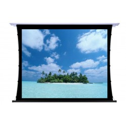 """Liberty Screen Pro 100"""" 16:10 Unique In-Ceiling Recessed Tab Tension Motorized 8K Screen"""