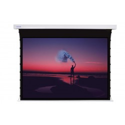 """Liberty Screen Pro 100"""" 4:3 Jampo Tab-Tensioned Motorized T8 Screen"""