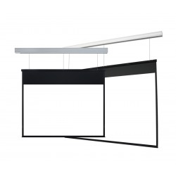 "Liberty Grandview Skyshow Screen 170"" (2.35:1) Model D With Matt White Fabric (Including Woodencrate)"